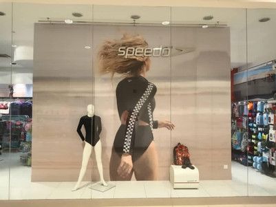 Window Display for Speedo.