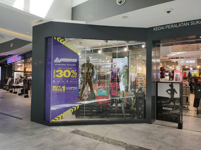 Window Display for Sport Direct