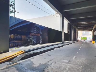 Outdoor Hoarding for Menara TRX