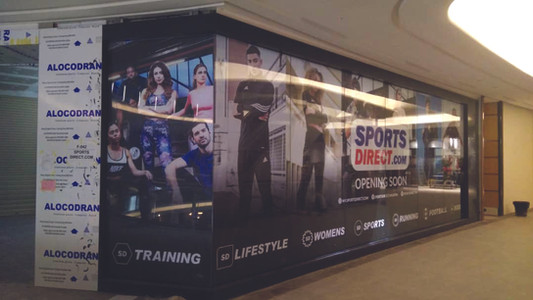 Hoarding Project for SportsDirect