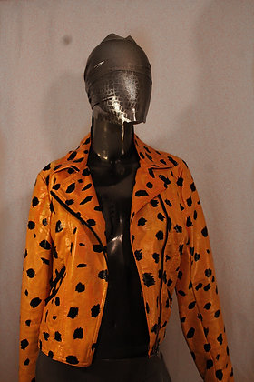 Seeing Spots painted jacket