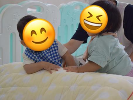 🏃♂️本日の室内遊び🏃♀️福岡県 飯塚市 堀池 飯塚ママー保育園◆病児保育あり