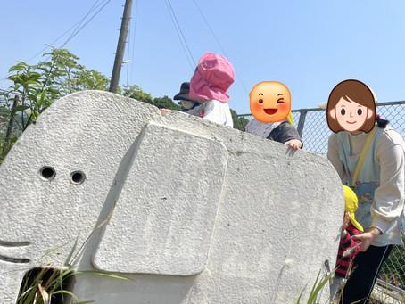 🎈お外遊び風景🎈~飯塚市鯰田 飯塚北らぶはーと保育園~一時預かり 安心の低料金