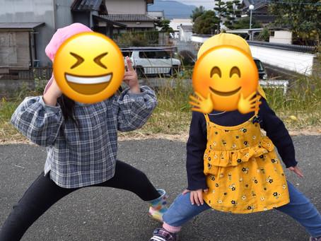 🌀12/5 寒さに負けず🌀 福岡県 飯塚市 堀池 飯塚ママー保育園