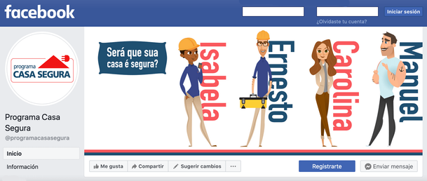 Página en Facebook