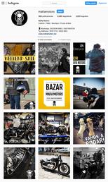 Perfil en Instagram