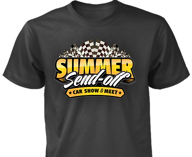 Summer Send off merch Black Tee.png
