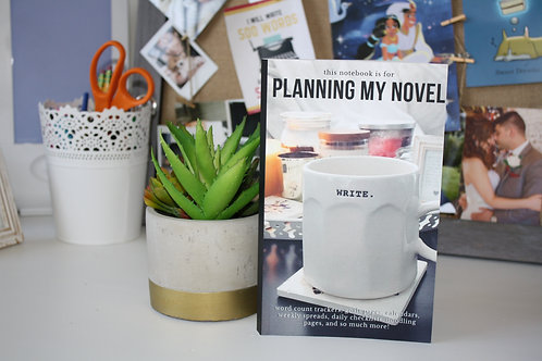 ADD ON (to Physical Writerly Care Packages) Planning a Novel Notebook (LIGHT)