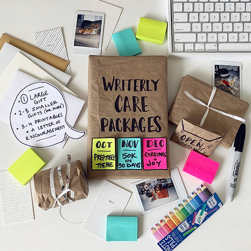 (PHYSICAL) WRITERLY CARE PACKAGE - PREPTOBER THEME