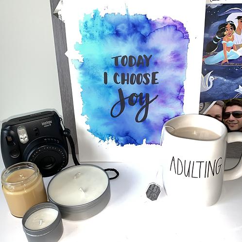 I Choose Joy -Original Watercolor