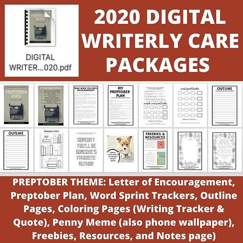 DIGITAL Writerly Care Package - PREPTOBER THEME