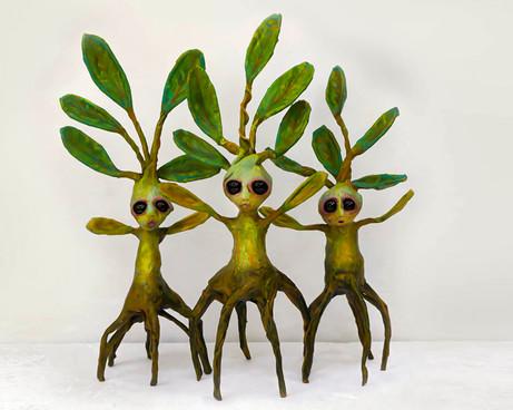 baby mangrove sculptures by ocasiocasa.j