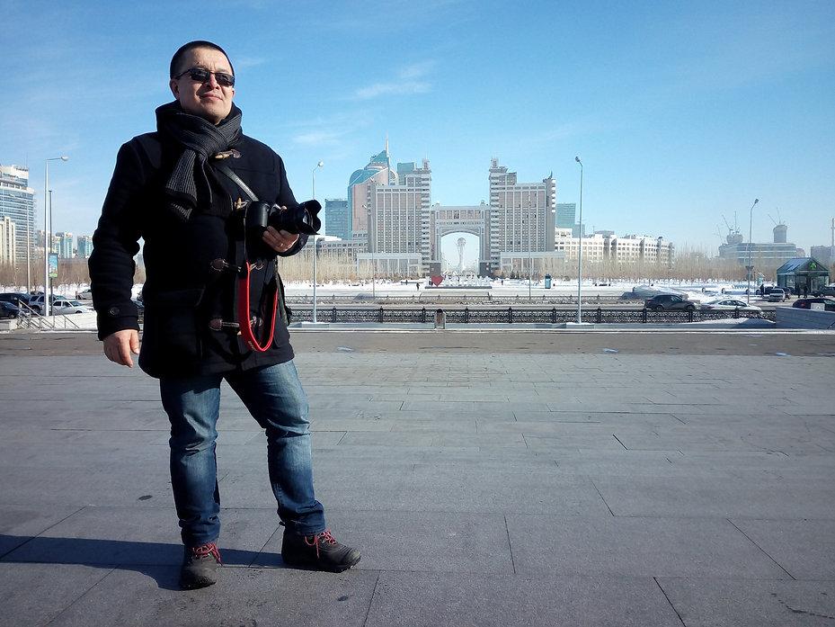 Моё турне по Казахстану, Астана
