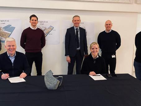 Breið þróunarfélag undirritar rammasamning við KPMG