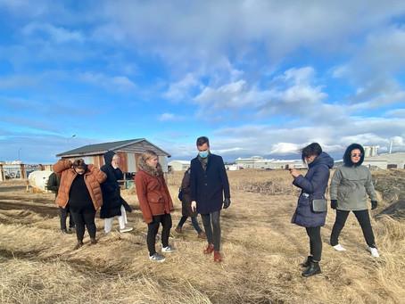 Meistaranemar í skipulagsfræði við LBHÍ taka fyrir svæðið að Breið á Akranesi!