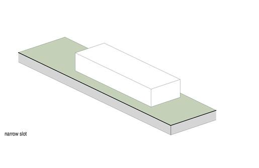 Narrow slot