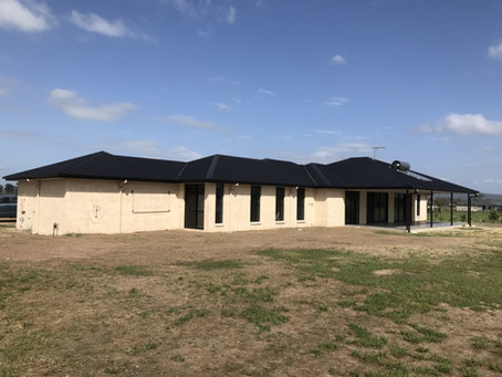 Handing over this wide frontage home this week | Exclusive Steel Homes