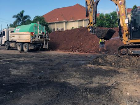 Earthworks at Hamilton, Brisbane | Exclusive Steel Homes