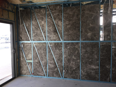 Insulation Installed | Exclusive Steel Homes