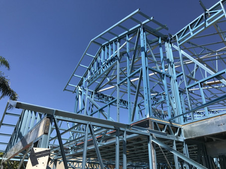 Steel Frame Complete | Exclusive Steel Homes