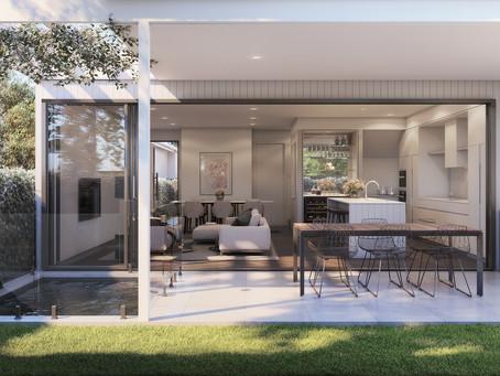 Townhouses in Hamilton, Brisbane | Exclusive Steel Homes