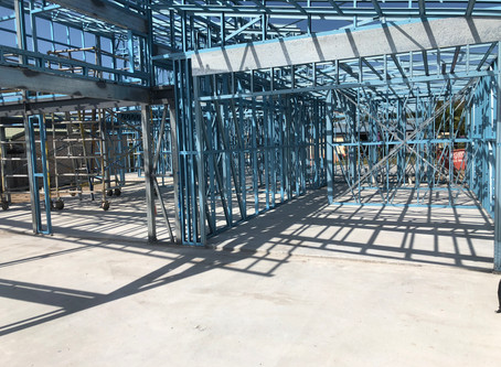 Steel Frame On A Sunny Day | Exclusive Steel Homes