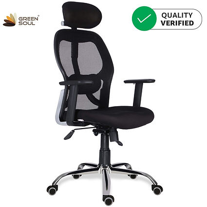 GreenSoul Newyork High Back Mesh Efficient Chair