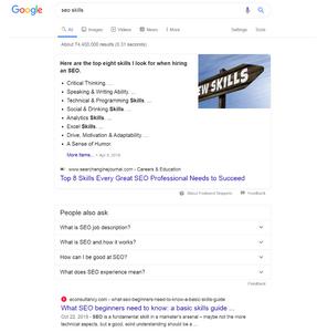 שינויים בהצגת תוצאות החיפוש בגוגל