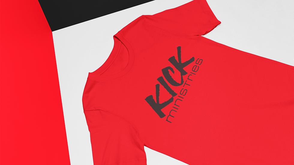 KICK T-Shirt (Red Black)