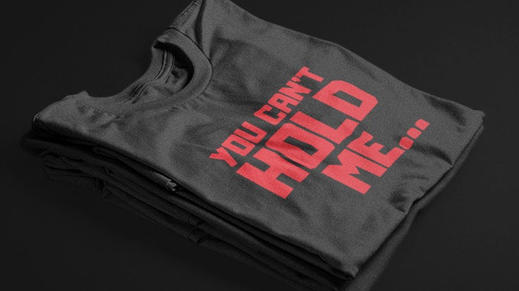 You Can't Hold Me (Black/Red)