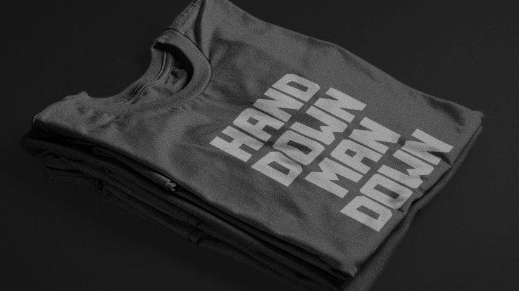 Hand Down (Black/Grey)