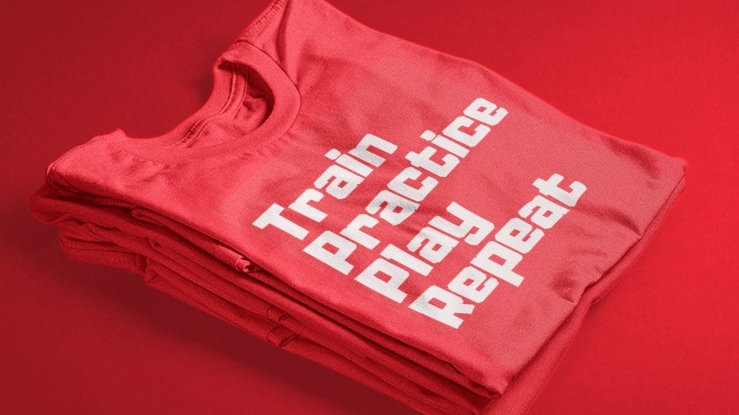 TPP Repeat (Red/White)
