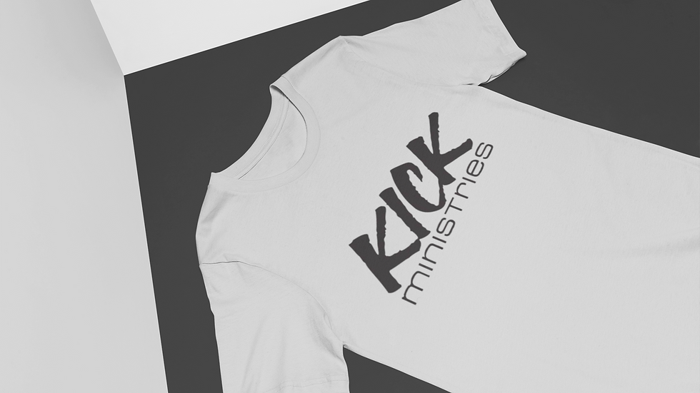 KICK T-Shirt (Grey Black)