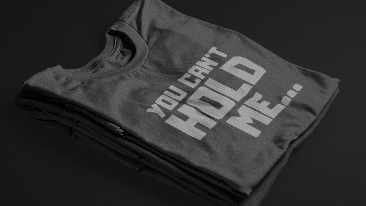 You Can't Hold Me (Black/Grey)