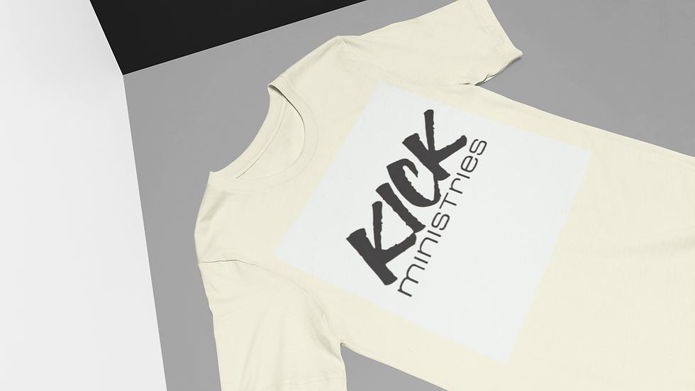 KICK T-Shirt (White/Black)