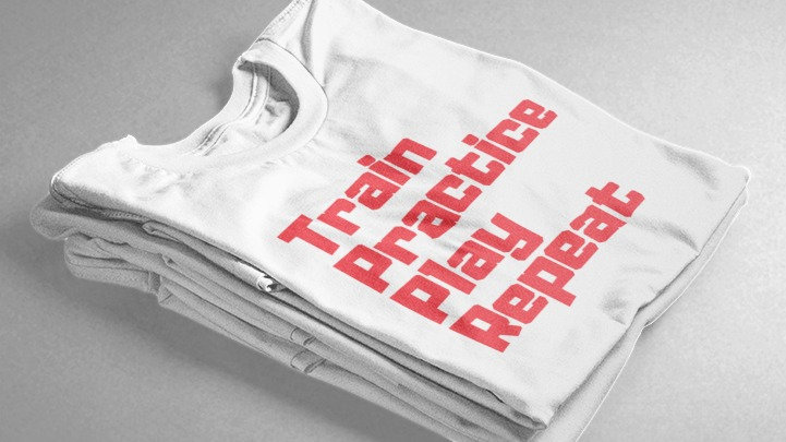 TPP Repeat (White/Red)