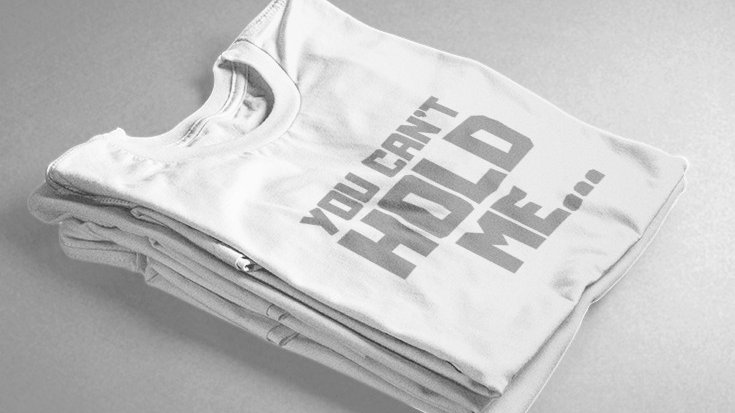 You Can't Hold Me (White/Grey)