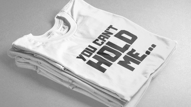 You Can't Hold Me (White/Black)