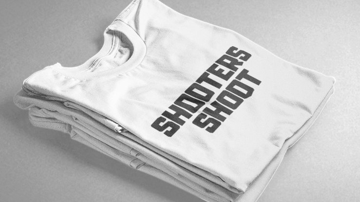 Shooters Shoot (White/Black)