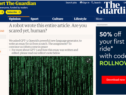 Do you like this article, written by a robot?