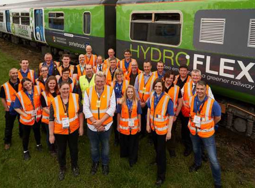 Hydroflex, the first hydrogen train in the UK