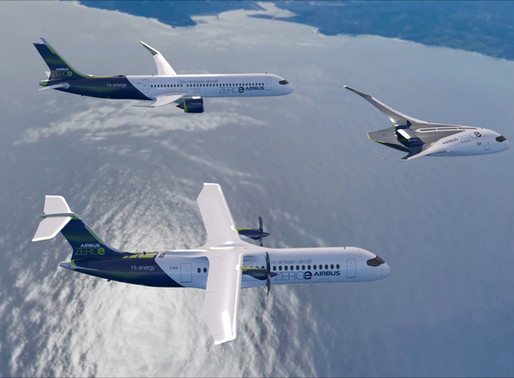 Airbus put hydrogen at the heart of future aircrafts