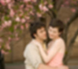 La flor de cerezo Amor