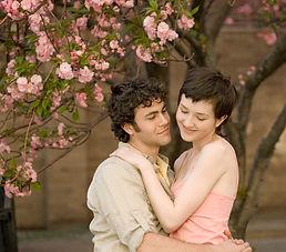 Cherry Blossom Couple Love - Dubai couple photography