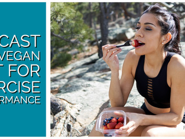 HIITCAST 024 - A vegan diet for exercise performance