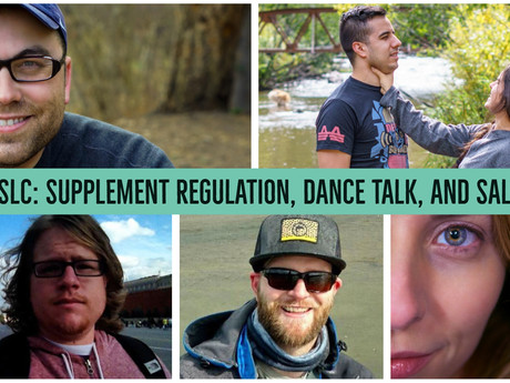 HIITCAST SLC: Supplement regulation, dance talk and Salty Viking