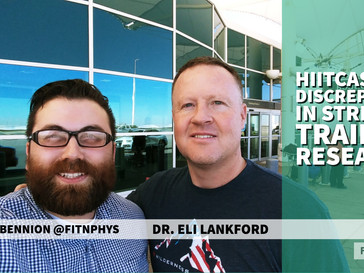 HIITCAST 013 - Discrepancies in Strength Training Research!
