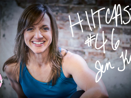 HIITCAST 46 - Nutrition Philosophies and Online Coaching with Jen Kates