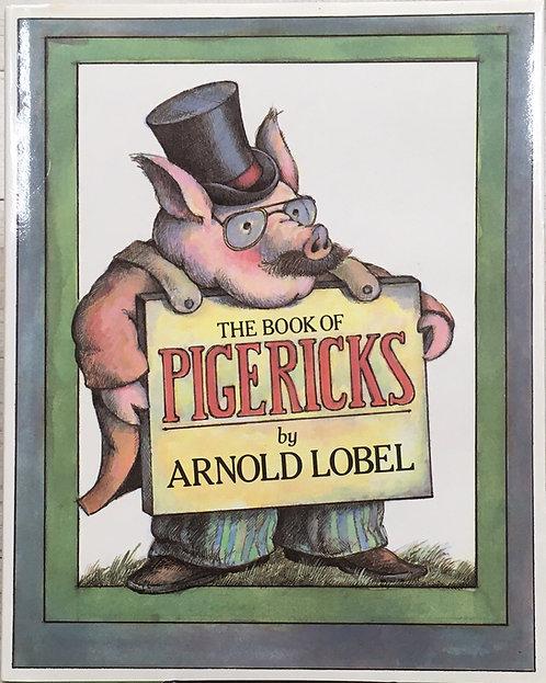 The Book of Pigericks,Pig Limericks Arnold Lobel,アーノルド・ローベル,洋書,挿絵,古書,古本,千葉,佐倉,アベイユブックス