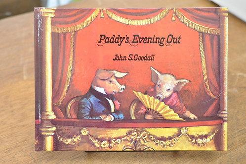 PADDY's EVENING OUT,ぶたのパディーは大かつやく,グッドール,古書,古本,千葉,佐倉,,京成佐倉アベイユブックス